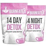 Burnfatea 14 Day Detox Tea | Weight Loss Slimming Tea | Tea Detox