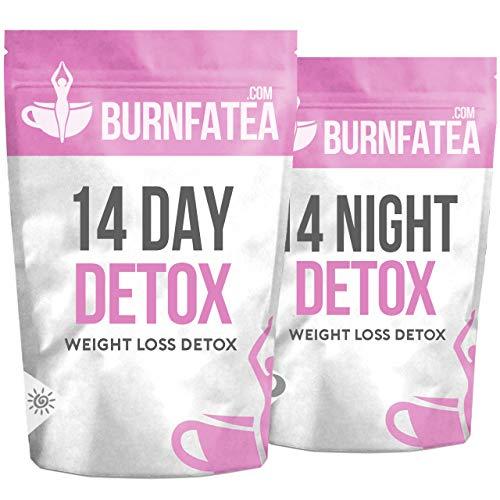 Burnfatea 14 Day Detox Tea | Weight Loss Slimming Tea | Tea Detox - No  Laxative Effect