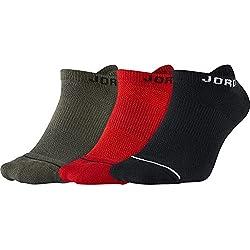 Nike Air Jordan Dri Fit, Calcetines, Pack de 3 Pares