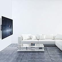 """UNHO® 26-50"""" Soporte Televisión de Pared Fijo con Inclinación Ajustable Ultra Delgado para TV Monitores Televisores y Pantallas 3D, Plana, LED, LCD, Plasma VESA (26 28 32 37 39 40 42 47 50 Pulgadas),VESA Max 400x400mm Capacidad de Peso de 45KG para Samsung Sony LG"""