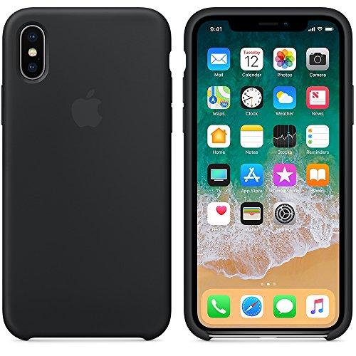 6972901b909 El último Verano Funda iPhone X, Slim Líquido de Silicona Gel Carcasa  Anti-Rasguño
