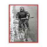 Boy on Bike Boxed Draw Holiday Notecards