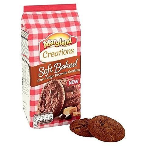 Maryland Kreationen Weich Gebacken Choc Fudge Brownie