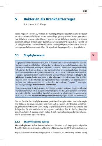 Medizinische Mikrobiologie: Grundlagen, Bakteriologie, Mykologie, Virologie, Parasitologie, Organsysteme