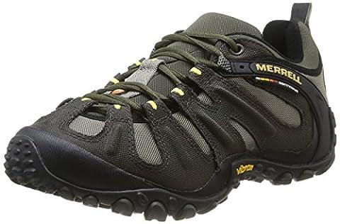Merrell - Chameleon Wrap Slam - Chaussure de randonnée - Homme - Vert - TR - F3 - 4 - 43,5 EU (9 UK)