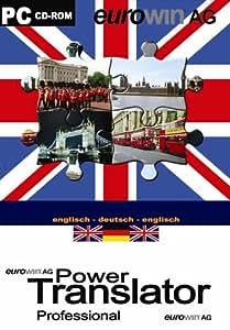 Power translator pro englisch deutsch englisch cd rom f r for Translator englisch deutsch