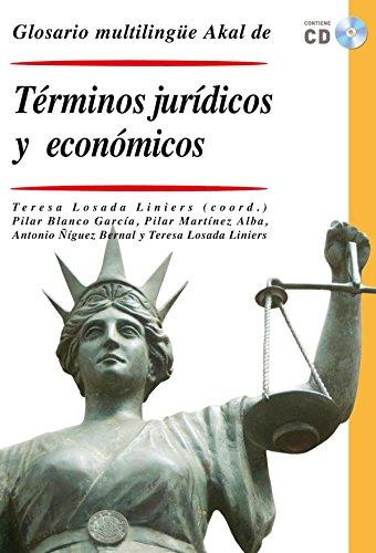 Glosario multilingüe de términos jurídicos y económicos (Diccionarios técnicos)