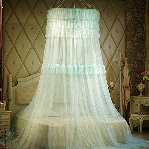 X&M Round Mosquito Nets,Moskitonetz Vorhänge,Baldachin Für Bett,Runde Decke  Kescher