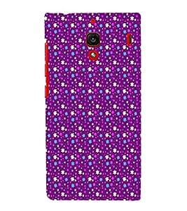 EPICCASE bling purple flowers Mobile Back Case Cover For Xiaomi RedMi 1S (Designer Case)