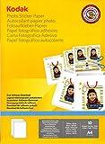 Kodak Papier Photo Autocollant imprimable A410
