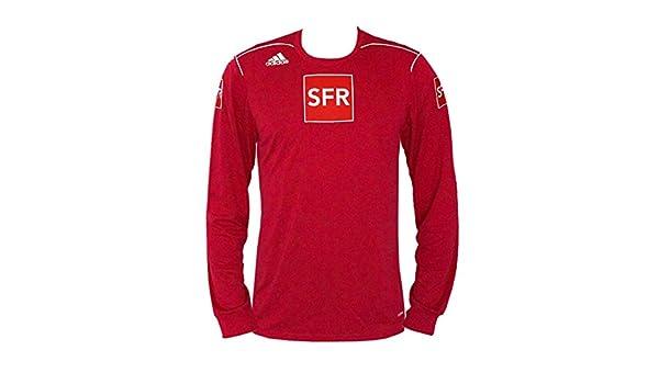adidas Trivela Fußball Trikot LS Langarm Rot, Gr. S XL