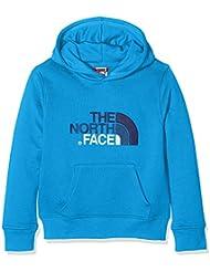 The North Face Drew Peak, Sudadera para Niños, Azul (Clear Lake Blue), 164 (Tamaño del Fabricante:M)