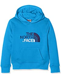 The North Face Drew Peak, Sudadera para Niños, Azul (Clear Lake Blue), 164 (Tamaño del Fabricante:L)