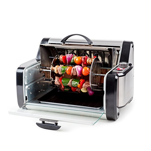 Deluxe Rotisserie and Oven – Perfect for Kebabs,Chicken and much more