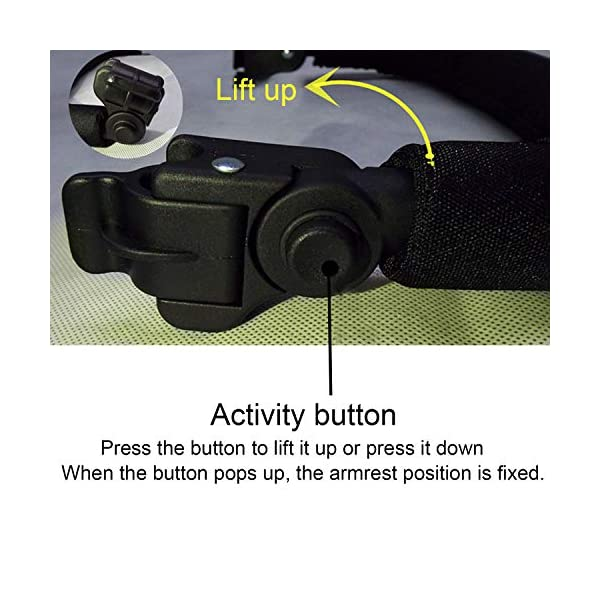 Baby Stroller Armrest, Joyhoop Pushchair Bar Compatible with Babyzen YOYO YOYO+ Yoya VOVO Babysing Hiwide YUYU Jeyhoop 【Baby Stroller Armrest】- The armrest is designed for protecting baby from collisions with walls, posts, people, obstacles, ensure your baby's protection wherever you go. 【More Intimate Design】- Feature a soft grip all around the front. If your baby leans too far forward, waves their arms, or kicks their legs and hits the armrest, the soft grip will protect them from painful bumps and bruises. 【Premiun Fabric】- The pushchair bar made of high quality oxford fabric and iron pipe, which is wear resistant, not easy to break, strong, lightweight and and is designed for long lasting use. 3
