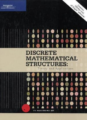 Discrete Mathematical Structures: Theory And Applications. PDF Books