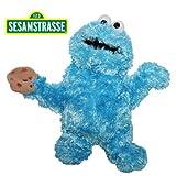 Sesamstrasse - Plüsch Figur Handpuppe Krümelmonster 35 cm