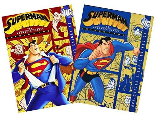 Superman The Animated Series DVD-Sammlung: Volume 1 und Volume 2 [DC Comics Classic Collection Season One und Season 2]