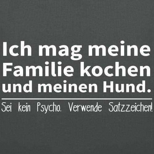 Grammatik Familie Kochen Stoffbeutel von Spreadshirt® Graphite