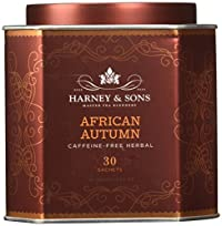 Harney & Sons African Autumn Caffeine Free Herbal Tea 30 Ct