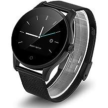Diggro K88H - Smartwatch Reloj Pulsera Deportiva (Ritmo Cardiaco, Podómetro, Recordatorio Llamada SMS, Recordatorio Sedentaria, Monitor del Sueño), Negro