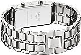 Als Geschenkidee zu Weihnachten bestellen Für den Freund - APUS Zeta Silver-Green LED Uhr für Ihn Design Highlight