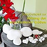 MGS SHOP Dekokies Dekosteine Streudeko Kies - Farbe wählbar (5 kg, Schneeweiß 15-25) - 7
