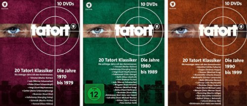 Tatort - 70er+80er+90er Box (30 DVDs)
