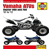 [(Yamaha Raptor 600 & 700 ATV Automotive Repair Manual)] [By (author) Quayside ] published on (November, 2012)