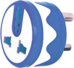 3 PIN Universal Round Conversion Plug - 5 AMPS - Pack of 3