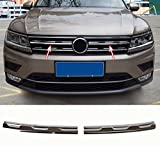 Emblema Trading - Listelli per griglia anteriore in acciaio inox cromato