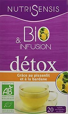 Nutrisensis Infusion Detox 20 Sachets 32 g - Pack de 6