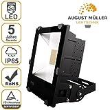 Flutlichtstrahler AML® FLP-200 D LED Außenstrahler Fluter Strahler für Gewerbe und Industrie, 20.000 lm, 200W, IP65, 50.000h, dimmbar