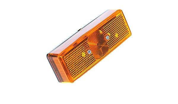 5 x Kontrollleuchte 12V DC LED Blaue Farbe Rund Konvex C43668 AERZETIX