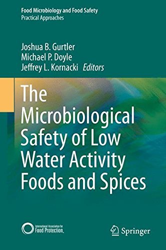 The Microbiological Safety of Low Water Activity Foods and Spices (Food Microbiology and Food Safety) (2014-12-09) par unknown author
