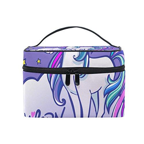 isaoa Multifunktional, Tasche mit Fantasy-Design, Reise-Kulturbeutel Kosmetik Beutel-Beutel Kulturbeutel Tragbare Reise-Make-up-Tasche für Damen, Mädchen
