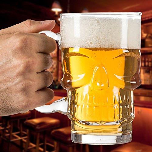 No definido - Jarra de Cerveza Calavera