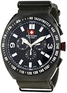 Swiss Military Herren-Armbanduhr XL Commando Analog Textil 06-4C2-13-007t6
