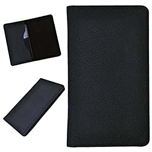 DCR Pu Leather case cover for Sony Xperia J (black)
