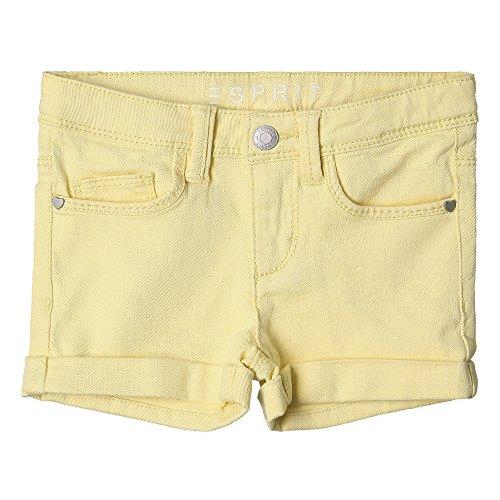 ESPRIT Mädchen Short, Gelb (Pale Yellow 722), 140 (Shorts Mädchen Gelb)