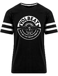 VOLBEAT - Circle Mom Stripe Tee T-Shirt