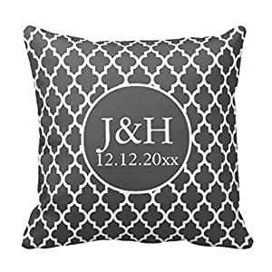 Custom Hello There Handsome and Good Morning Gorgeous cushion pillow case 18 x 18 inch pillow set