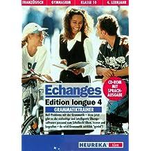 Etudes Francaises, Echanges, Edition longue, Zu Tl.4 : Grammatiktrainer, für Windows, 1 CD-ROM Französisch für Gymnasium Klasse 10, 4. Lernjahr. Mit Sprachausgabe. Für Windows ab 3.1 oder Windows 95