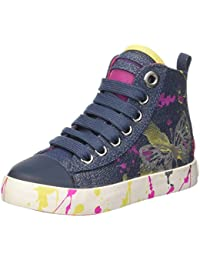 Geox Mädchen Jr Ciak Girl C Hohe Sneakers