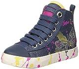 Geox JR Ciak Girl C, Zapatillas Altas para Niñas, Azul (DENIMC4008), 26 EU