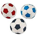 Stoffball D: 11 cm weicher Softball für Hunde auch für Ballspiele im Haus geeignet