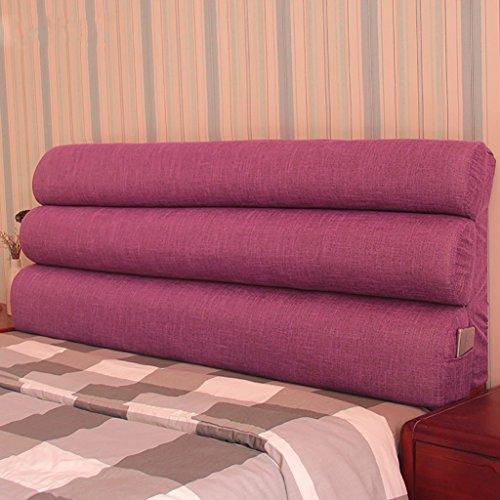 XUEYAN Stoff Kopfteil Kissen Abnehmbare und waschbare Bett Soft Pack große Rückenkissen Bett...
