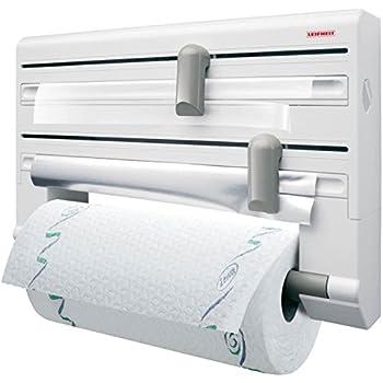 contura triple roll dispenser for foil cling film and paper towel kitchen home. Black Bedroom Furniture Sets. Home Design Ideas