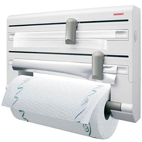 leifheit-25703-parat-comfort-portarrollos-de-papel-de-cocina-de-pared