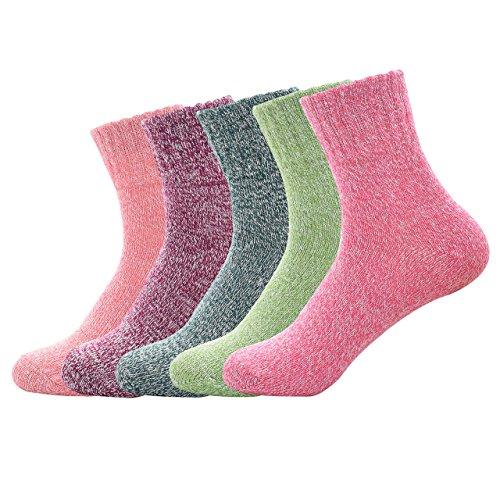 Spring fever Damen Socken Gr. Einheitsgröße, Einfarbig (Pointelle Plus Womens)